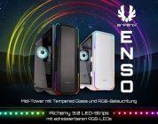 BitFenix Enso Midi-Tower und die Alchemy 3.0 LED-Strips starten in den Handel