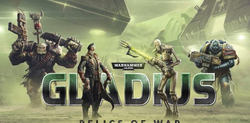 Gladius: Relics of War – Düsteres 4X-Strategiespiel im Warhammer 40k-Universum angekündigt