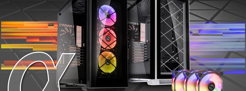 Neu bei Caseking – Lian Li Alpha Tempered Glass Gehäuse und Bora RGB-Lüfter