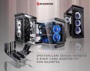 Raijintek – Neue Gehäuse sowie Riser-Card-Adapter-Kit ab sofort im Handel verfügbar