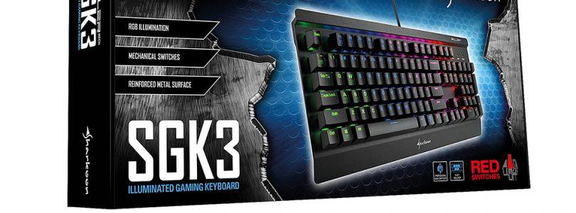 Skiller Mech SGK3 von Sharkoon startet in den Handel