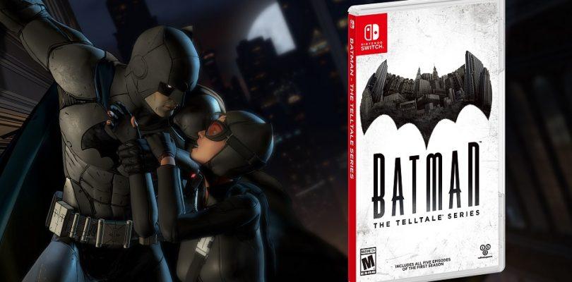 Batman – The Telltale Series erscheint am 17. November für die Nintendo Switch