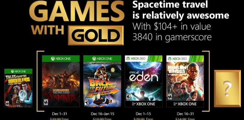 Hier sind die Games With Gold für den Dezember 2017