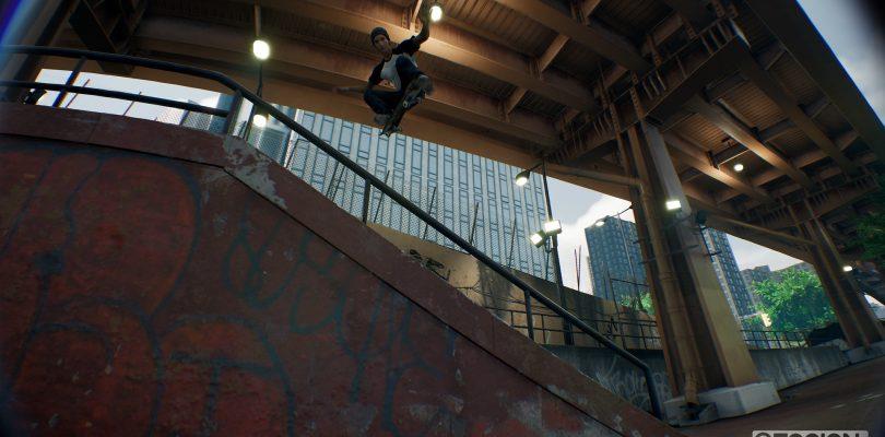 Session – Skateboard-Spiel startet via Kickstarter durch