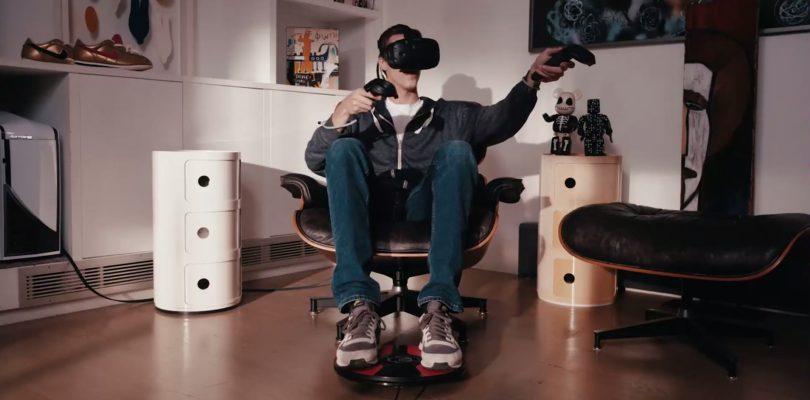 3dRudder – Foot-Motion-Controller wird auf der CES 2018 vorgestellt