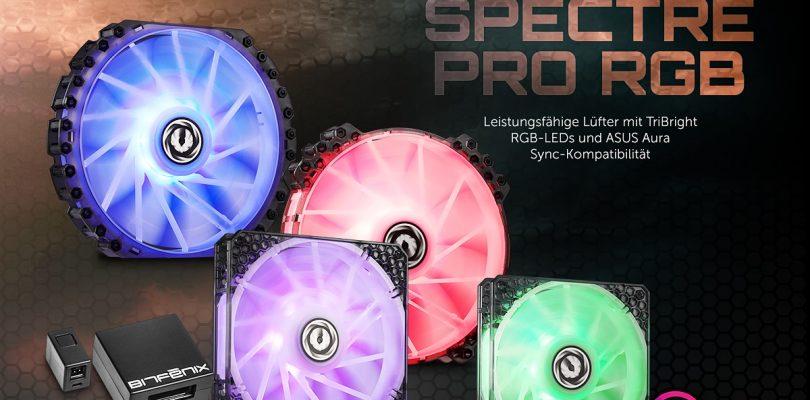 BitFenix Spectre Pro RGB Lüfter-Serie startet via Caseking