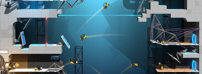 Bridge Constructor Portal – Neuer Gameplay-Trailer zum Release veröffentlicht