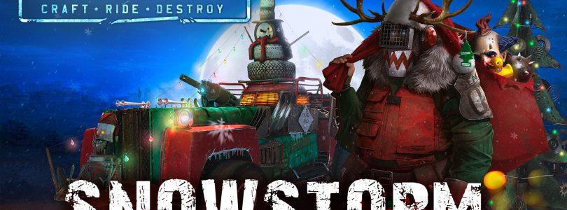 """Crossout – Weihnachtliches Event """"Snowstorm"""" gestartet"""