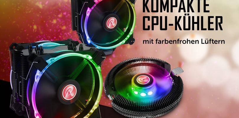 Raijinteks kompakte und effiziente CPU-Kühler Leto, Leto Pro und Juno-X startet bei Caseking