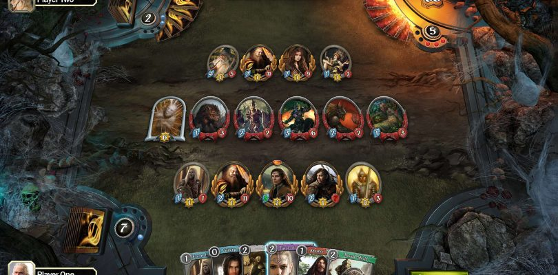 The Lord of the Rings: The Living Card Game mit Teaser angekündigt