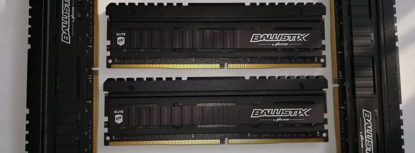 Hardware-Test: Ballistix Elite – DDR4-Speicher für High-End-Gamer