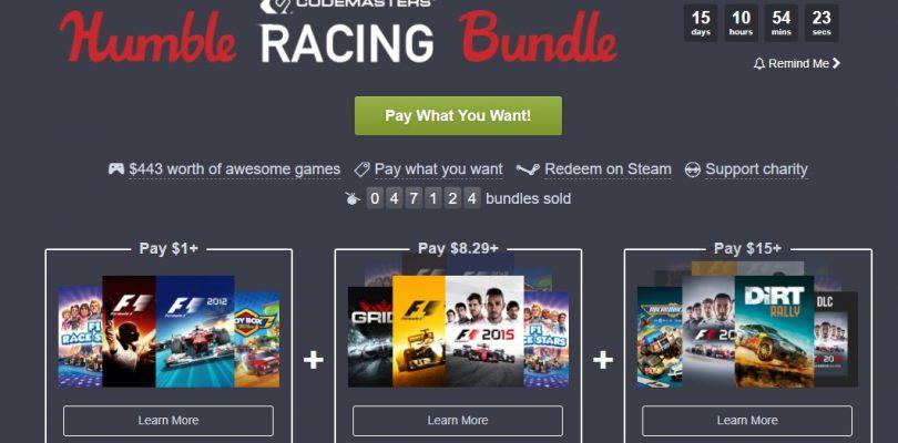 Humble Bundle – Neues Paket mit Rennspielen von Codemasters und neues Humble Monthly am Start