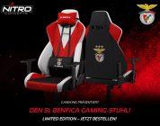 Der Nitro Concepts S300 Gaming-Stuhl startet als Benfica Lissabon Special Edition