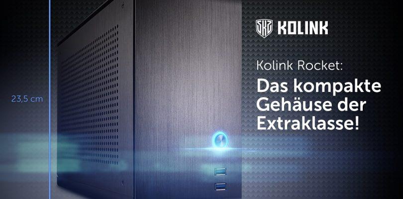 """Kolink veröffentlicht neues Mini-ITX-Gehäuse """"Rocket"""""""
