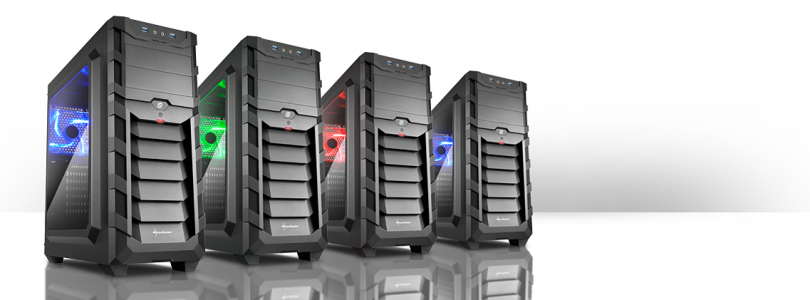 Sharkoon veröffentlicht SGC1 ATX Midi Tower Serie