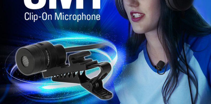 Sharkoon veröffentlicht SM1 Ansteckmikrofon zum Nachrüsten