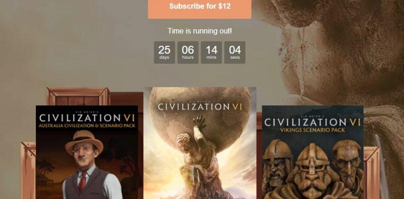 Humble Monthly – Diesen Monat mit Civilization 6 und zwei DLCs