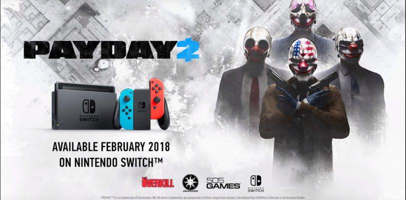 Payday 2 – Trailer zur Nintendo Switch-Version