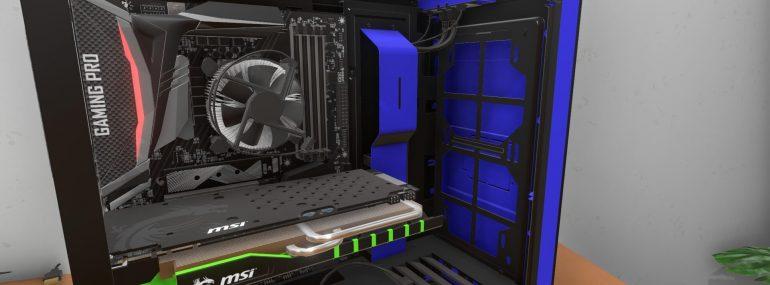 PC Building Simulator – Ab sofort auch in Deutsch spielbar