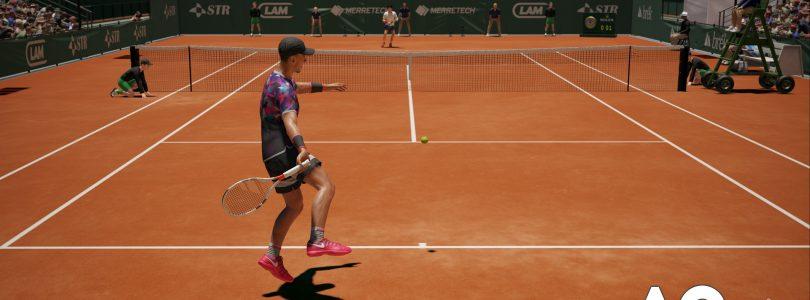 AO International Tennis – Neues Video stellt das Gameplay der Sportsimulation in den Mittelpunkt