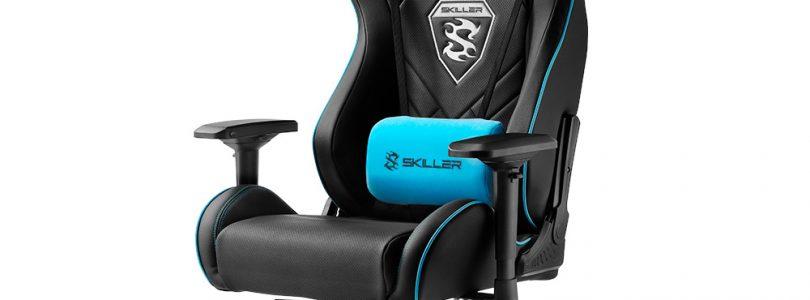 SKILLER stellt neuen Gaming-Seat SGS4 vor