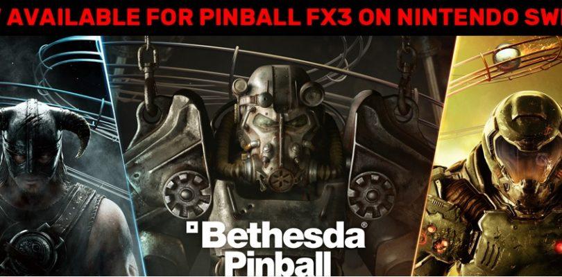 Kurznews – Bethesda Pinball auf Nintendo Switch veröffentlicht