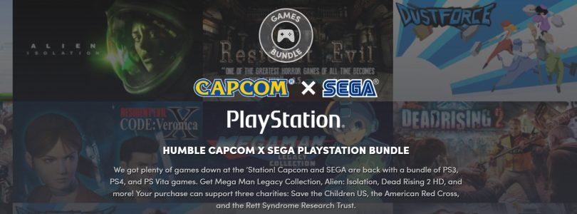 Humble Bundle – Capcom X Sega bringt Spielepaket für die Playstation