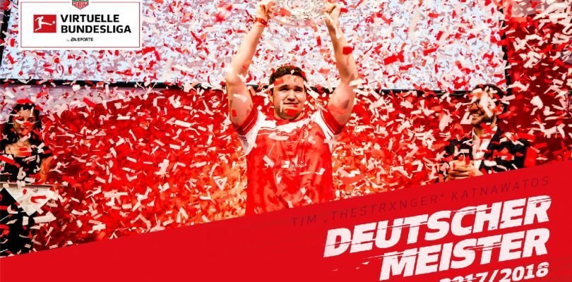 "Virtuelle Bundesliga – Tim ""TheStrxngeR"" Katnawatos ist deutscher Meister"