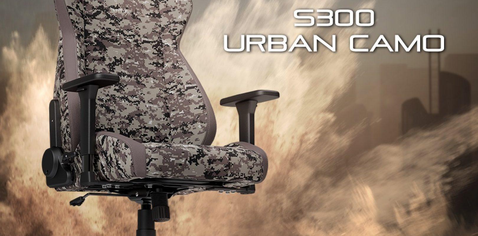 nitro concepts s300 gaming stuhl urban camo