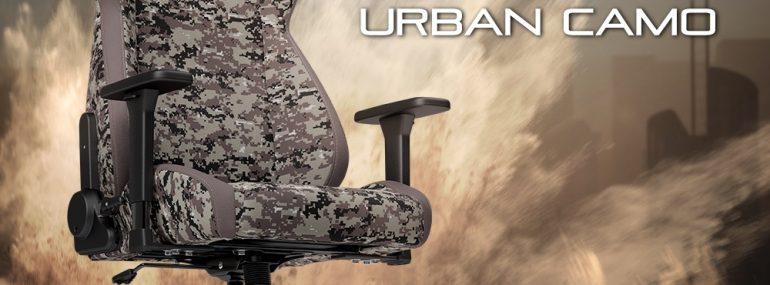 Nitro Concepts S300 Gaming-Stuhl mit digitaler Urban Camouflage startet bei Caseking