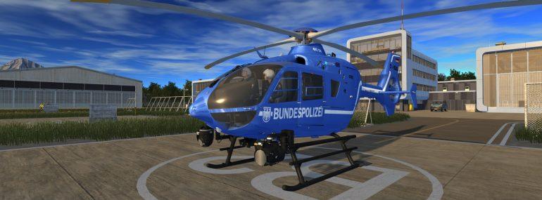 Der Polizeihubschrauber Simulator erscheint am 08. November