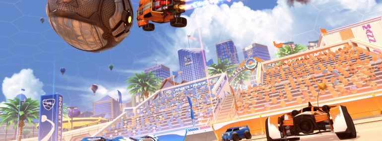 "Rocket League – ""Salty Shores""-Update erscheint am 29. Mai"