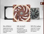 Noctua bringt neue Lüfter NF-A12x25 und NF-P12 redux auf den Markt