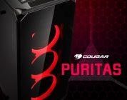 Cougar Puritas – Neuer Midi-Tower mit LED-Lüftern und Hartglas-Seitenteilen