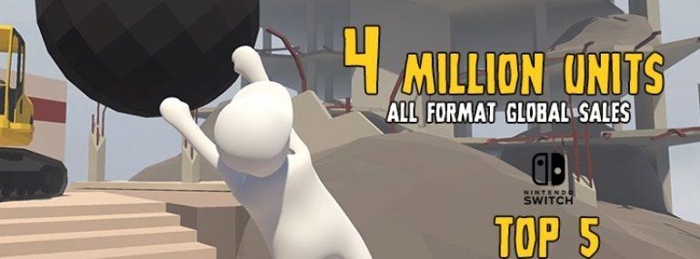 Human: Fall Flat – 4 Millionen Verkäufe erreicht, Patch 1.4 veröffentlicht