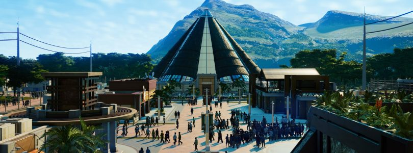 "Jurassic World Evolution – Neues Video zeigt die Dinos zum kommenden DLC ""Return to Jurassic Park"""