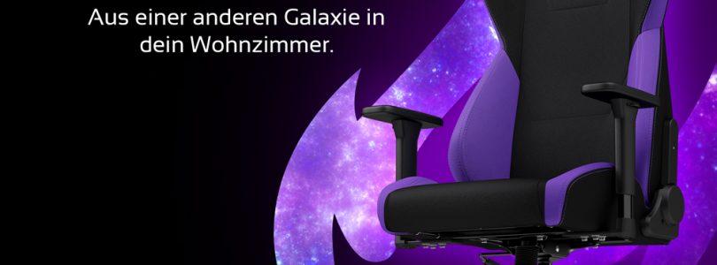 Nitro Concepts S300 – Gamer-Sessel erstrahlt in neuer Nebula Purple-Farbe