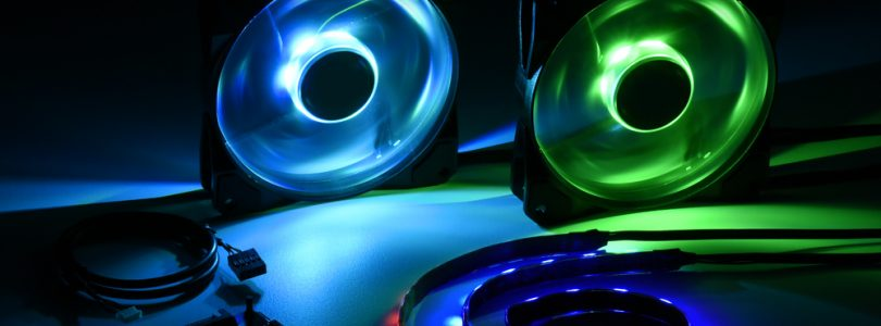 Pacelight RGB Illumination Set – Sharkoon veröffentlicht Sorglos-Paket mit Lüfter und Strips