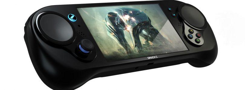 Smach Z – Gaming-Handheld im Trailer, Produkt als Beta auf der Gamescom spielbar