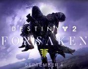 """Destiny 2 – Zwei neue Videos von der E3 zur """"Forsaken""""-Erweiterung"""