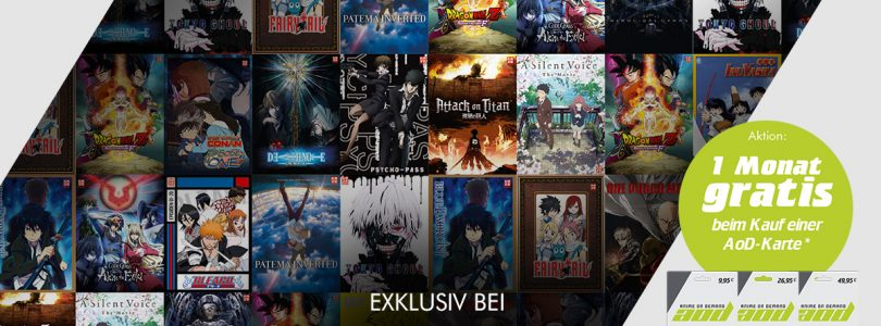 """GameStop – Anime-on-Demand-Guthaben verfügbar, Gewinnspiel """"I Love Anime"""" gestartet"""