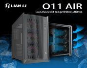 PC-O11 Air – Lian Li und der8auer präsentieren neuen Midi-Tower