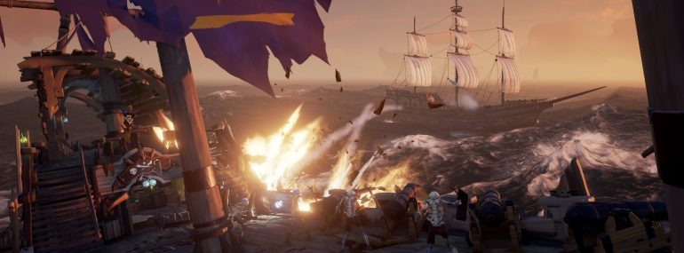 "Sea of Thieves – Content-Update ""Cursed Sails"" erscheint am 31. Juli"