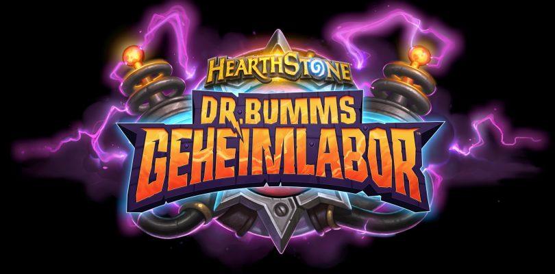 Kurznews – Dr. Bumms Geheimlabor für Hearthstone erschienen