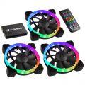 Hardware-Test: Das Vortex HDB RGB-Lüfter 3er-Set mit Controller von Cougar im Testlabor