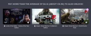 Humble CI Games Bundle mit Sniper Ghost Warrior und Lords of the Fallen