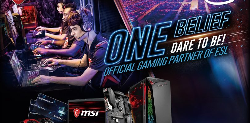 ESL ONE Cologne 2018 – MSI offizieller Partner zum CS:GO-Event in Köln + Gewinnspiel