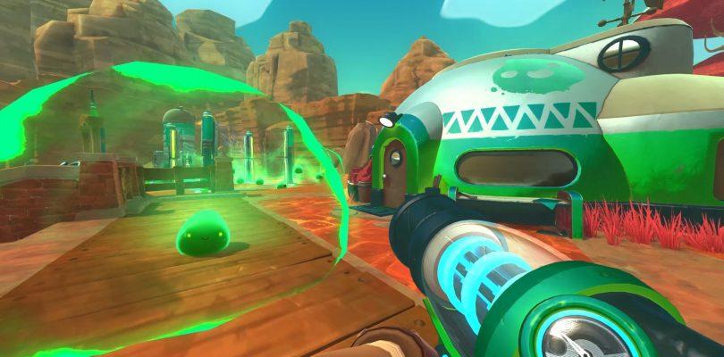 Slime Rancher erscheint im September auf PS4 und XBox One im Handel