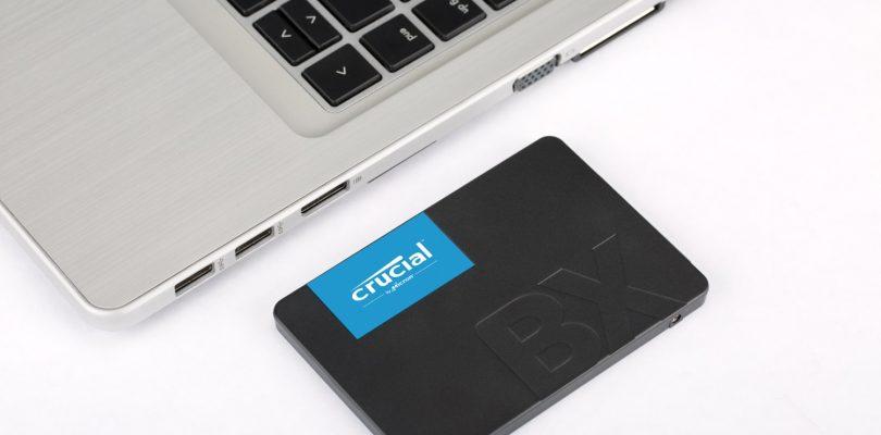 Crucial veröffentlicht seine neue SSD BX 500