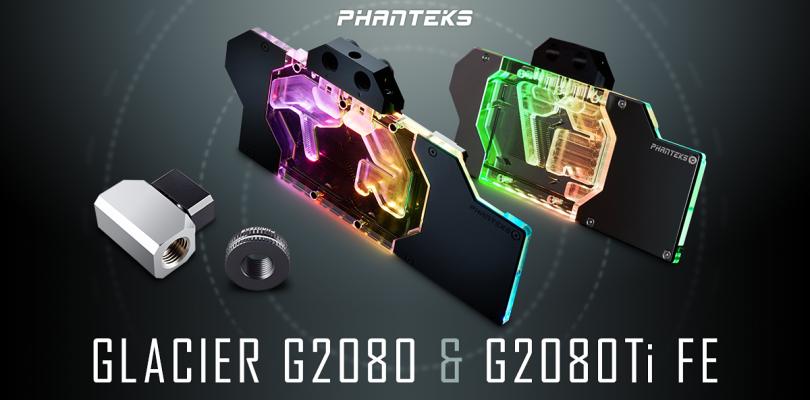 PHANTEKS Glacier – Neuer Wakü-Block für GeForce RTX 2080 und RTX 2080 Ti angekündigt